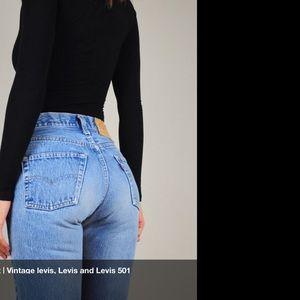 "501 LEVIS VINTAGE "" W/OUT "" THE $$$$"